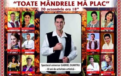 SPECTACOL ANIVERSAR- *TOATE MANDRELE MA PLAC*- GABRIEL DUMITRU