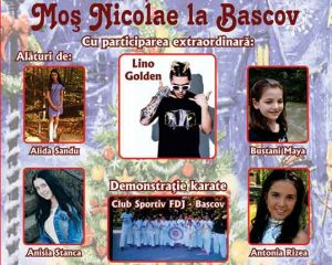 Ca-n fiecare an, Moş Nicolae vine… la Casa de Cultură Bascov cu surprize pentru toată lumea !