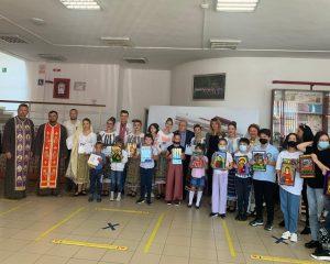 Managerul Casei de Cultura a Comunei Bascov și-a inceput activitatea cu un eveniment ortodox