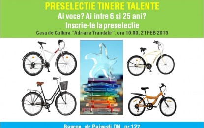 """Preselectie """" Festivalul Tineretii"""", Editia a XI a,Mangalia 2015"""